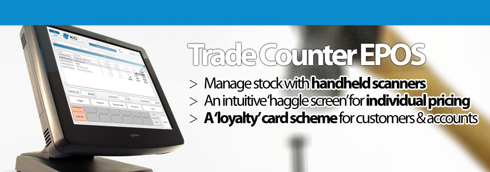 Trade Counter EPOS.